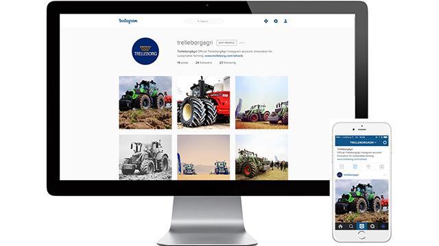 Trelleborg открыла свой аккаунт в Instagram