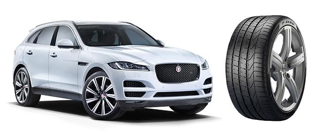 Jaguar выбрал шины Pirelli для новых кроссоверов F-Pace