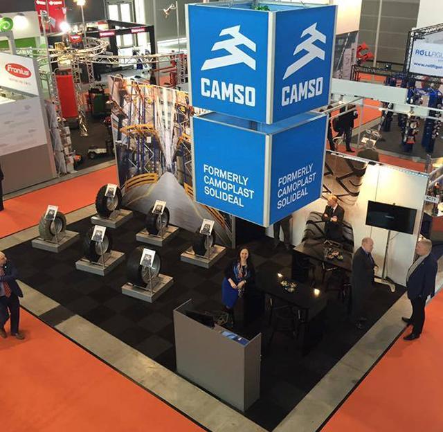 Manitou Group признала Camso лучшим поставщиком комплектующих