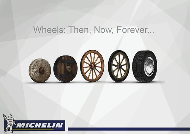 Michelin Drone Wheel - новая страница в истории изобретения колеса