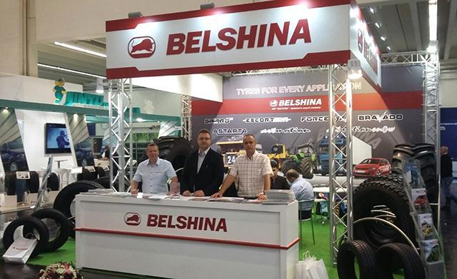 «Белшина» представила в Эссене шины линеек Artmotion HP, Escortera и Galero Agro