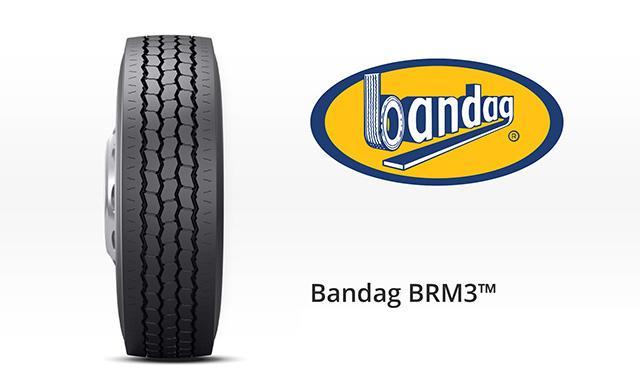 Bridgestone представила новую шину с восстановленным протектором Bandag BRM3 для мусоровозов