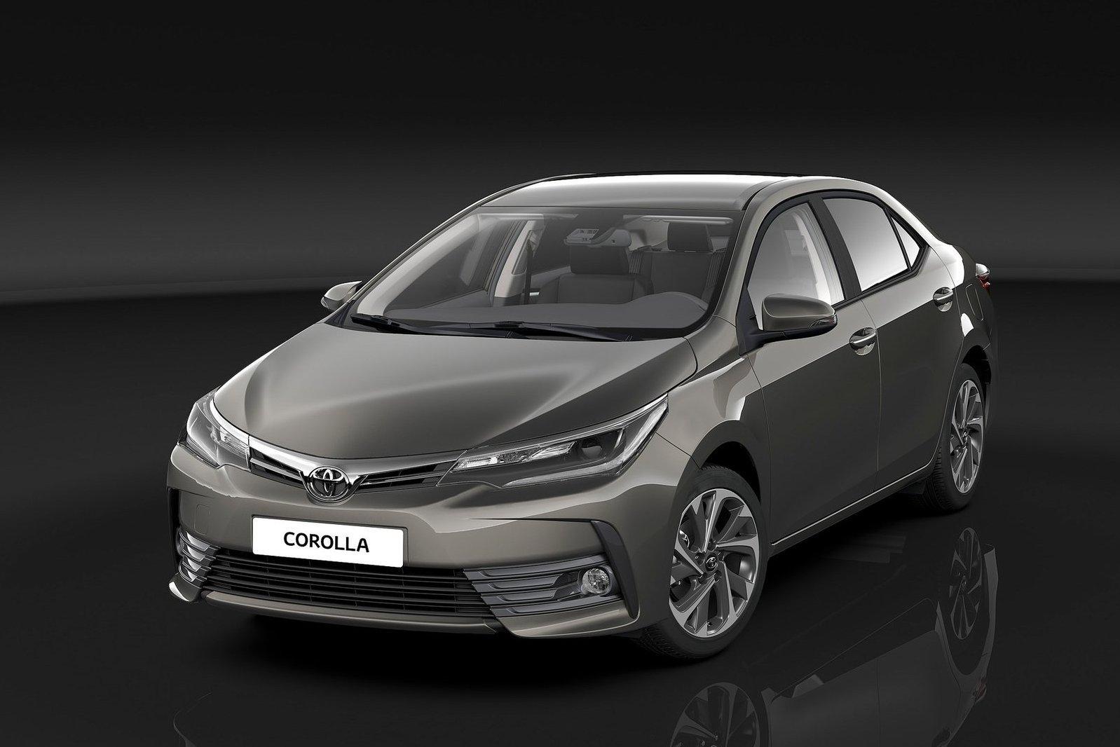 Обновленная Toyota Corolla показала интерьер