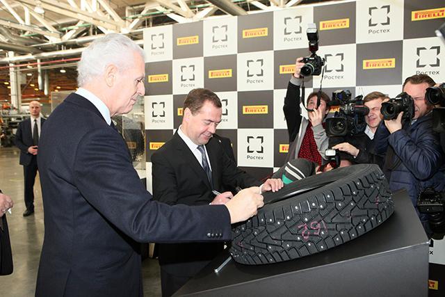 Пирелли заинтересована в поставках российских шипов противоскольжения