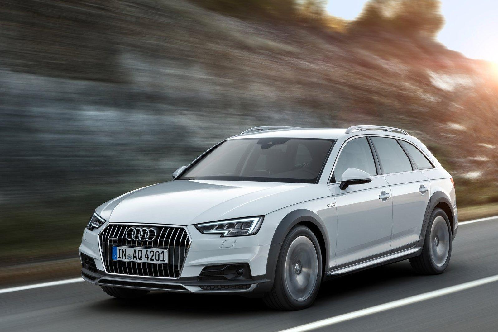 Audi A4 Allroad доехал до России в новом поколении