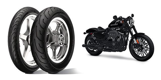 Dunlop разработал спецверсию шин GT502 для нового мотоцикла Harley Davidson