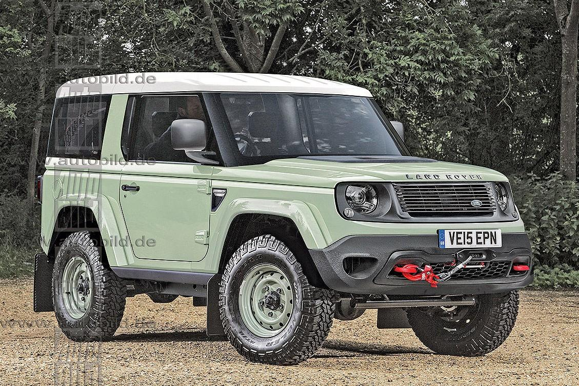 Land Rover Defender: рендеры и информация о новом поколении
