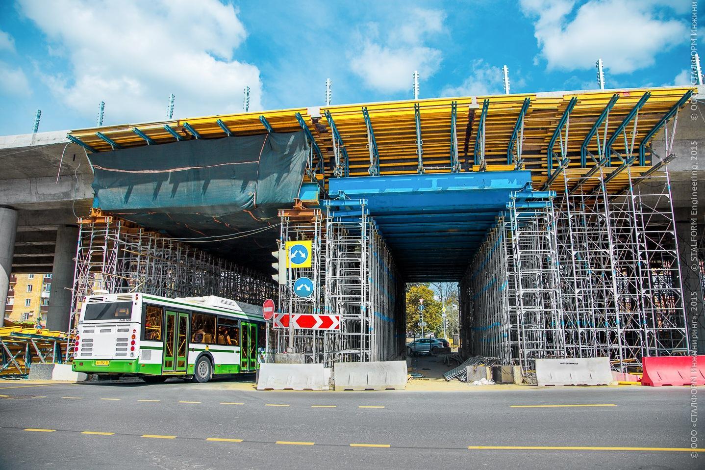 Реконструкция Волоколамского шоссе закончится в 2017 году