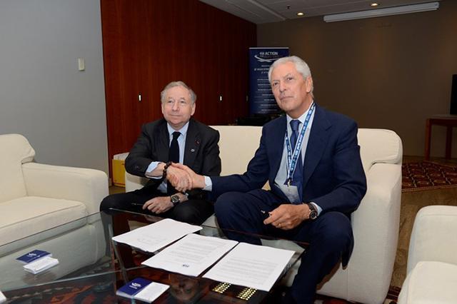 Pirelli и FIA подписали соглашение о сотрудничестве в области безопасности дорожного движения