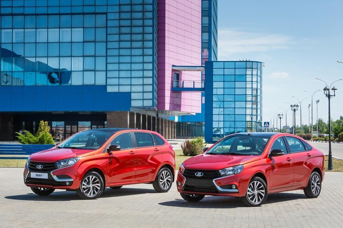 АвтоВАЗ выпустил особую серию Lada Vesta и XRAY