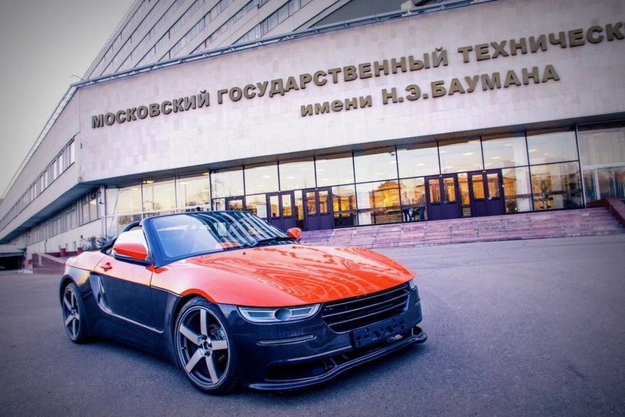 В МГТУ им. Баумана построили родстер «Крым»