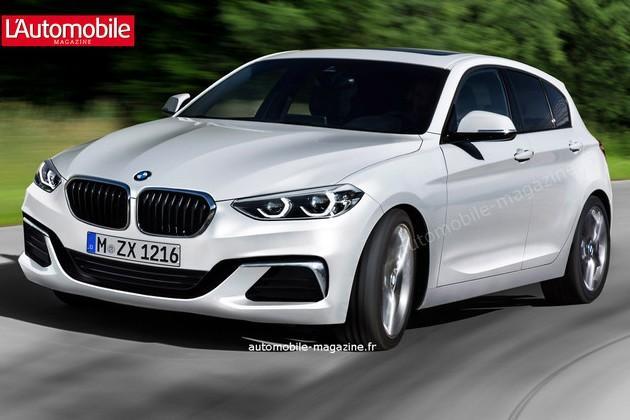 Третье поколение BMW 1-Series: известны первые детали