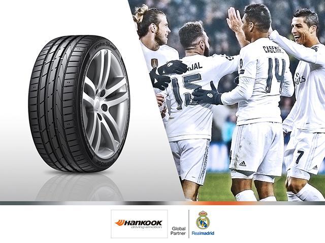 Hankook стала спонсором мадридского «Реала»