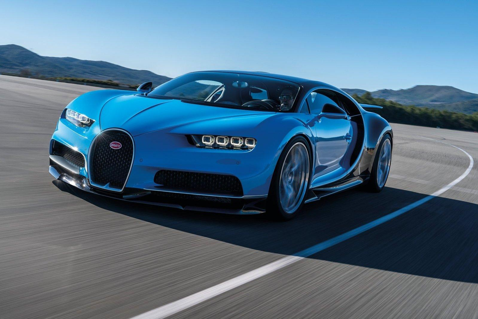 Bugatti Chiron замахнулся на 463 км/ч
