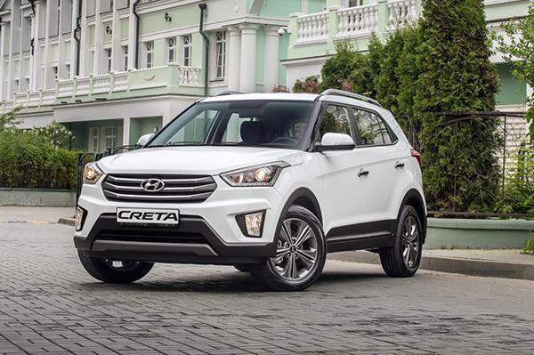 Стали известны комплектации Hyundai Creta