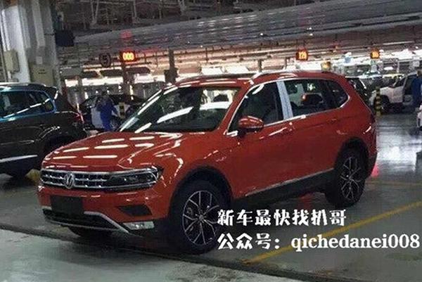 Фотошпионы запечатлели удлиненный Volkswagen Tiguan