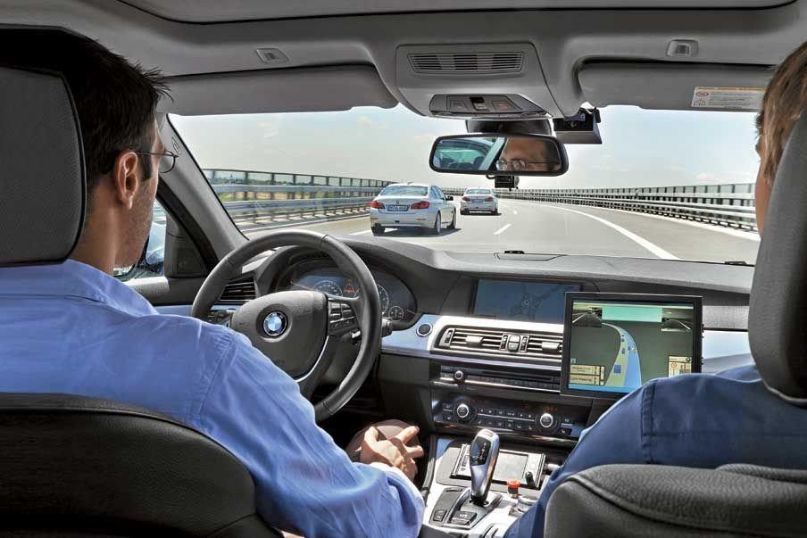 BMW вплотную займется разработкой автопилота