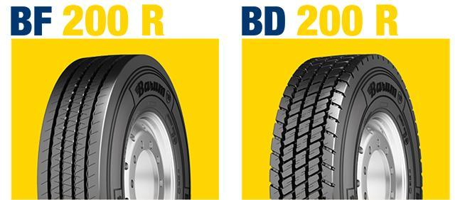 Barum расширяет размерный диапазон грузовых шин BF 200 R и BD 200 R