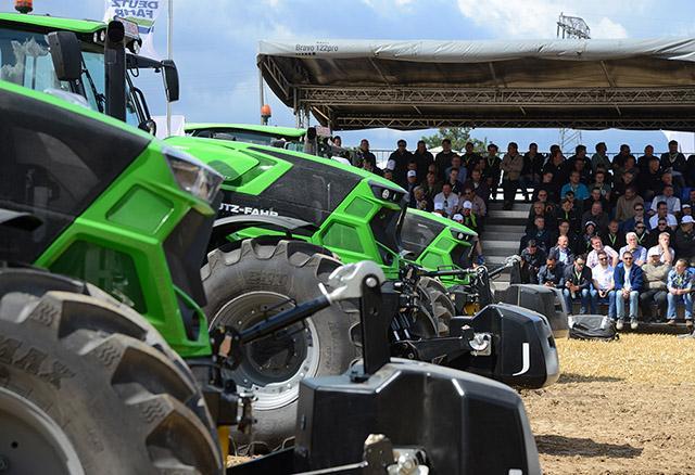 BKT Tires оснастила своими шинами новые тракторы Deutz-Fahr