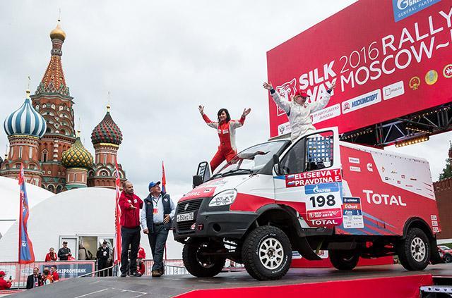 «ГАЗ Рейд Спорт» проедет «Шелковый путь 2016» на шинах Michelin и BFGoodrich