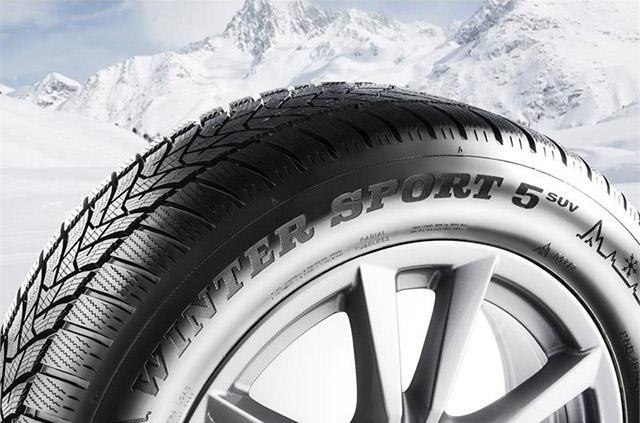 Dunlop Winter Sport 5 SUV омологированы для заводской комплектации Mercedes-AMG GLC 43 4MATIC