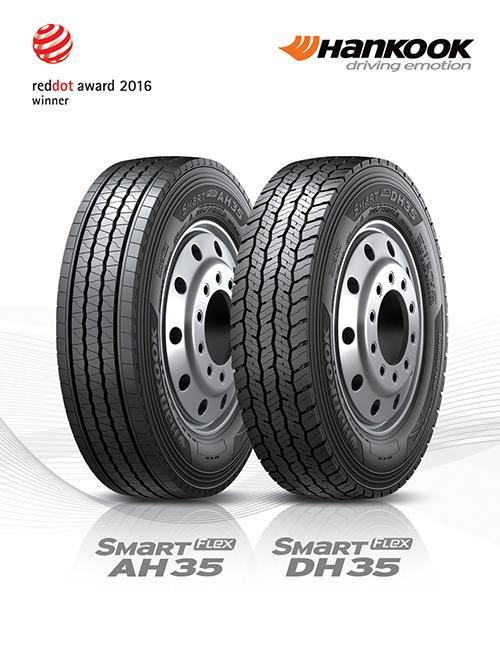 Hankook Tire запускает на рынке новые грузовые шины SmartFlex AH35 и DH35