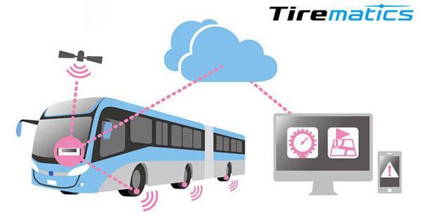 Bridgestone тестирует систему удаленного мониторинга коммерческих шин Tirematics
