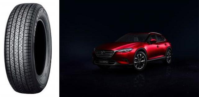 Yokohama обует новые купе-кроссоверы Mazda CX-4 в шины Geolandar G91