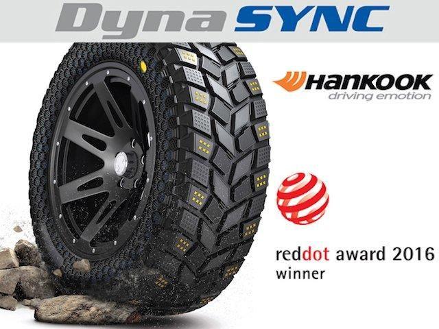 Внедорожные шины Hankook DynaSync получили награду Red Dot