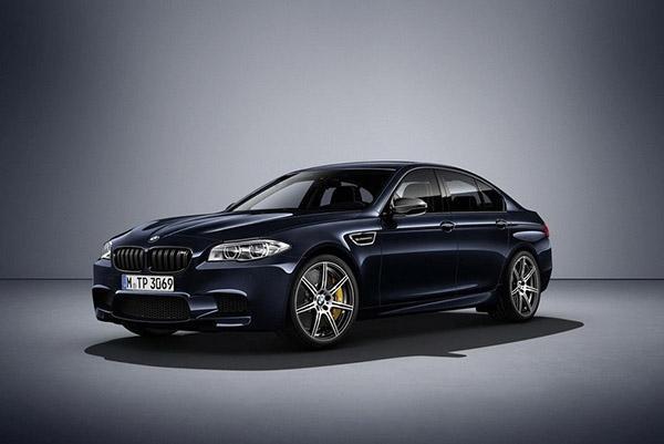 BMW прощается с нынешним поколением M5 спецсерией