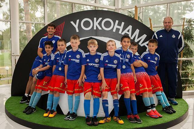 Yokohama и Chelsea FC организовали футбольный лагерь для российских детей
