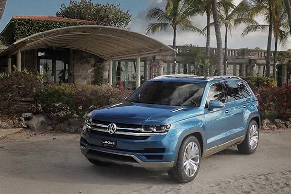 Volkswagen запатентовал имя для большого кроссовера