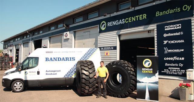 RengasCenter стала официальным дистрибьютором шин Magna Tyres в Финляндии