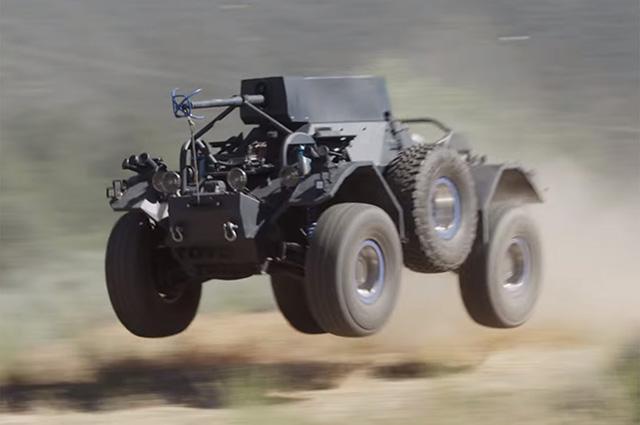 Что может старый броневик на новых шинах Toyo Open Country