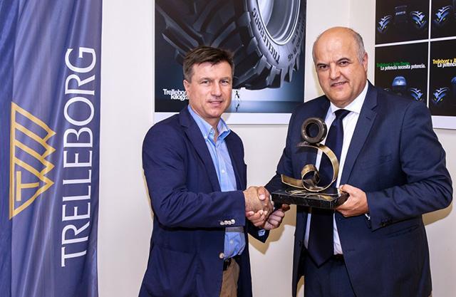 Trelleborg TM1060 признана «Агропромышленной шиной года» в Испании