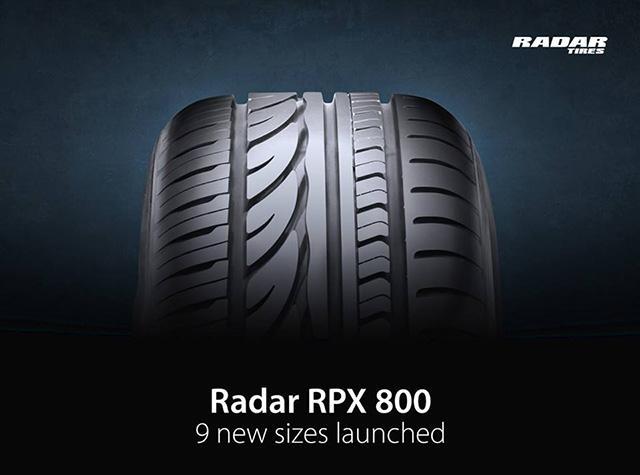 Omni United расширяет размерный диапазон модели Radar RPX 800