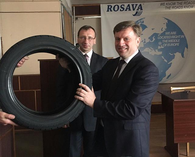 «Росава» освоила выпуск 17-дюймовых легковых шин