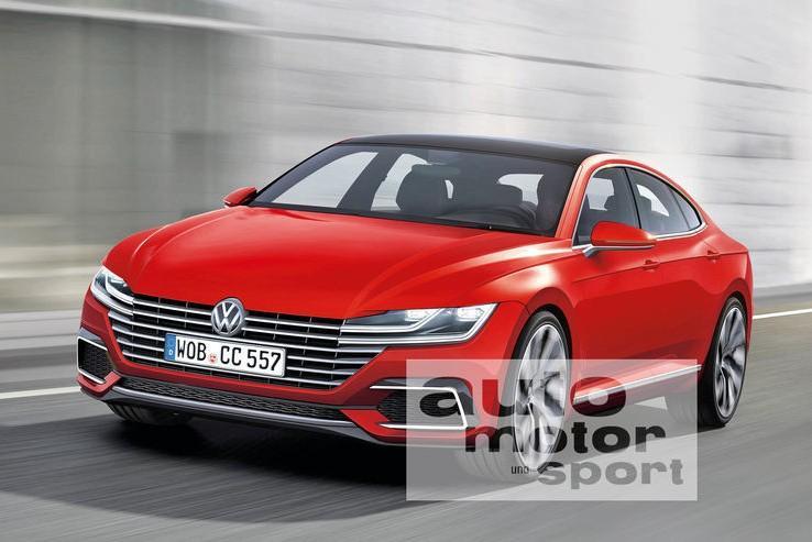 Volkswagen Passat CC: новые подробности