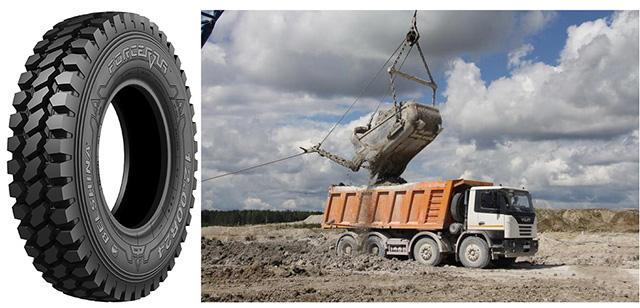 «Белшина» представила новые шины Forcerra ML700 для карьерных самосвалов