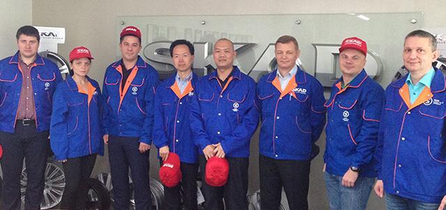 Делегация японской Kosei посетила российский завод SKAD