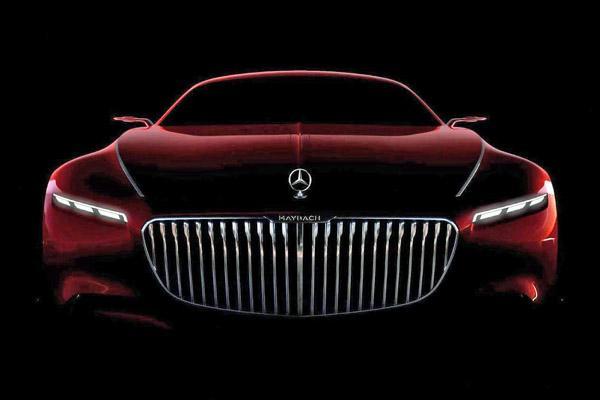 Mercedes показал новый тизер купе Maybach