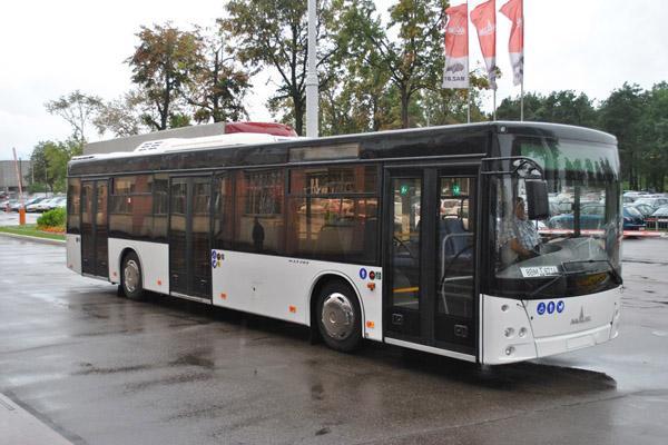 МАЗ представил автобус для стран Евросоюза