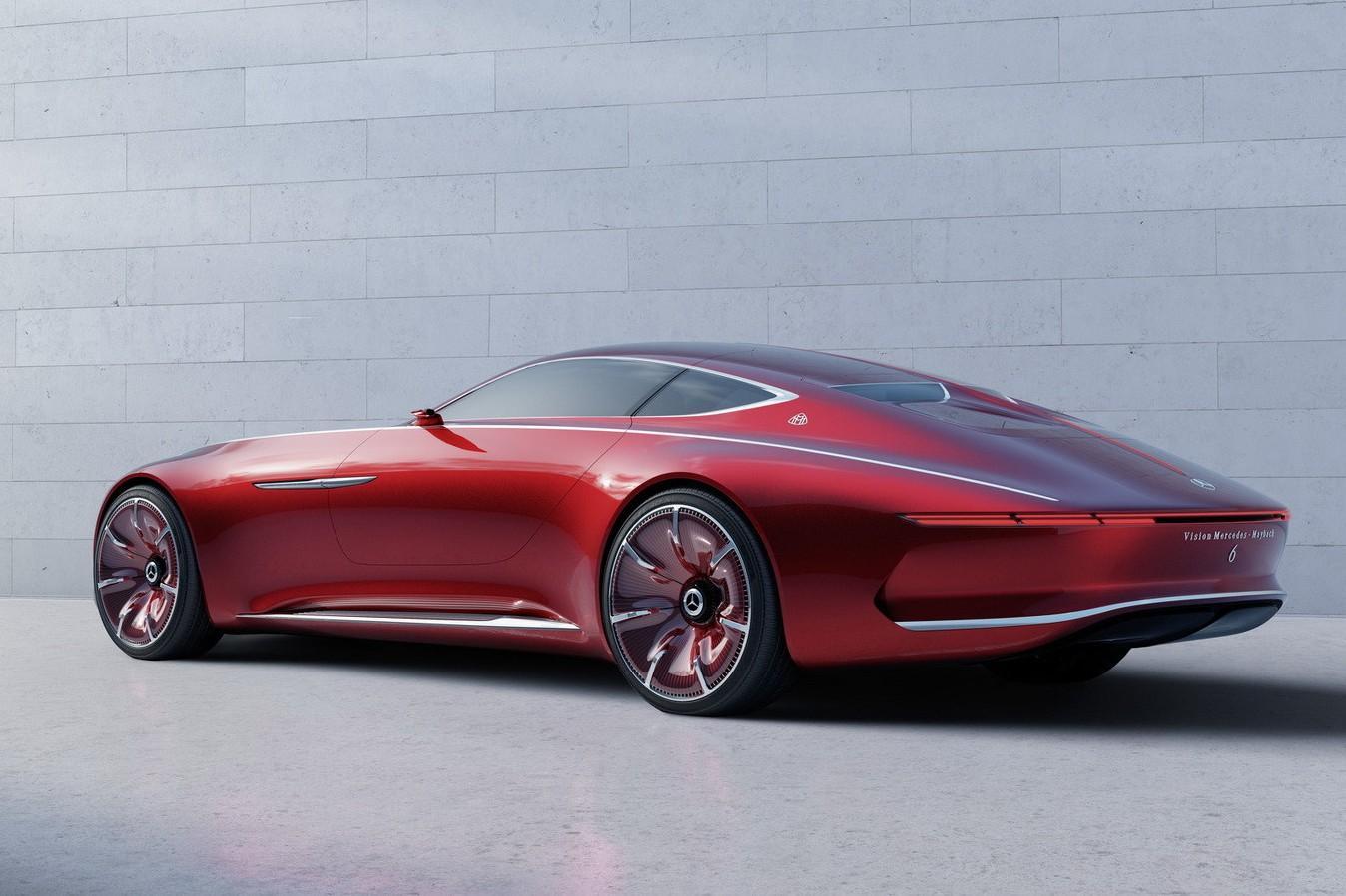 Огромное купе Mercedes-Maybach перестало быть секретом