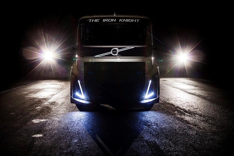 Volvo подготовила тягач для рекорда скорости