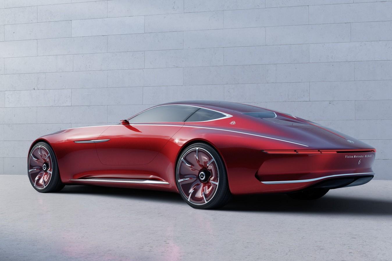 Mercedes раскрыл подробности о купе Maybach