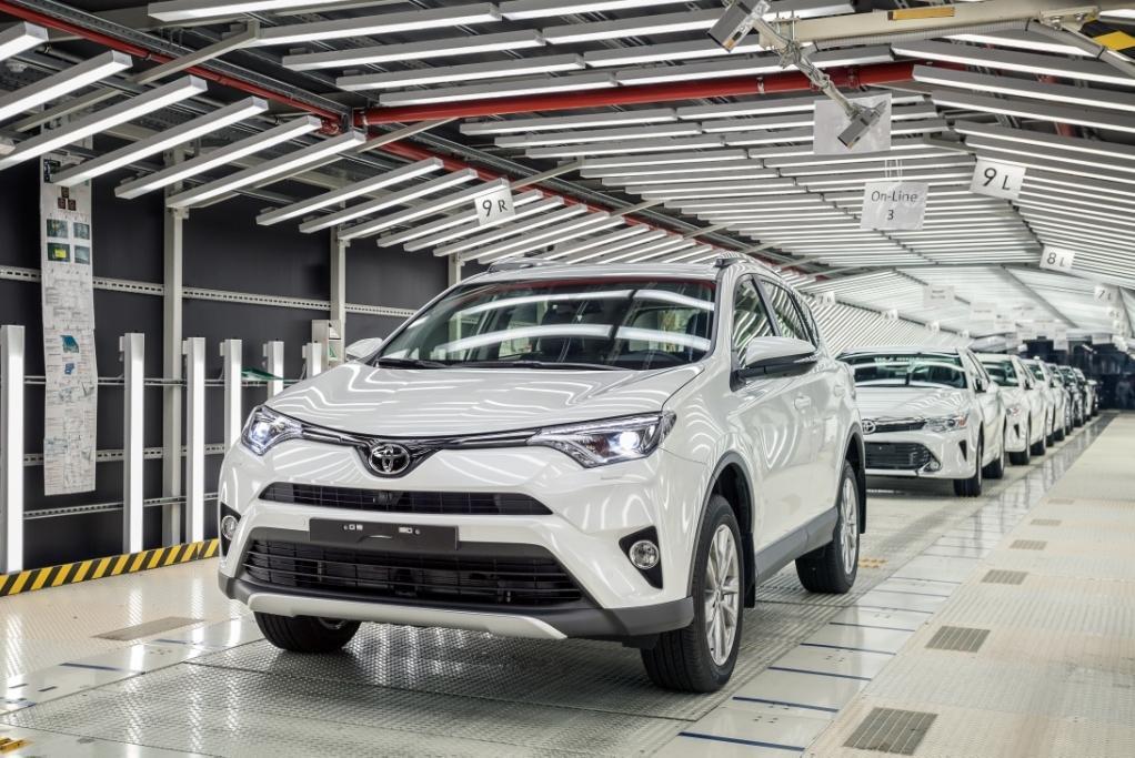 Стартовала российская сборка Toyota RAV4