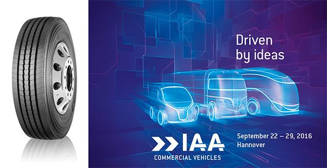 Мишлен представит на IAA 2016 новые грузовые шины X Multi Energy