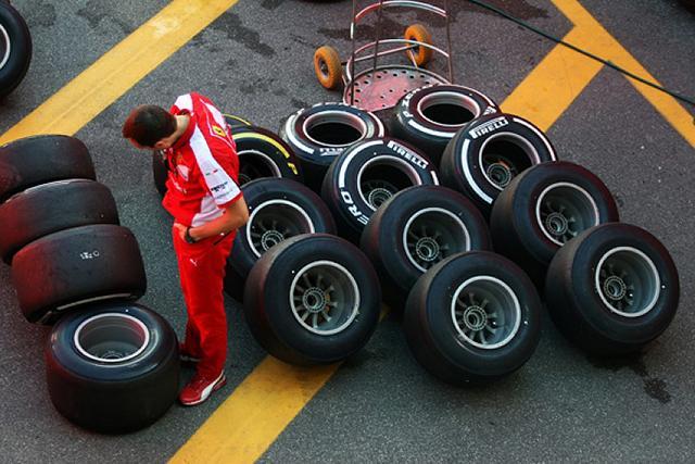 Пирелли объявила командный выбор шин на Гран-при Италии