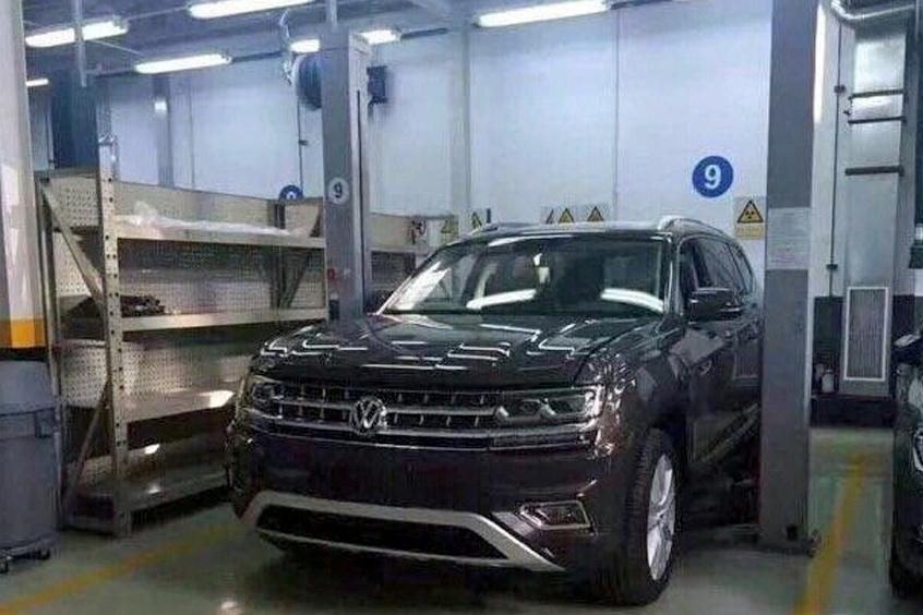 Volkswagen Teramont не утаили до премьеры