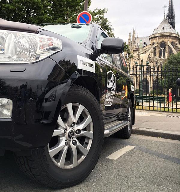 Автопробег Лиссабон - Магадан на шинах Toyo продолжается